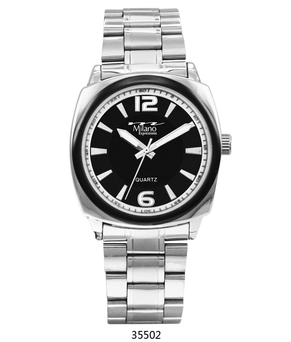 M Milano Expressions  Silver Metal Band Watch with Silver Case is now available in our shop for only $23.50. Buy it now