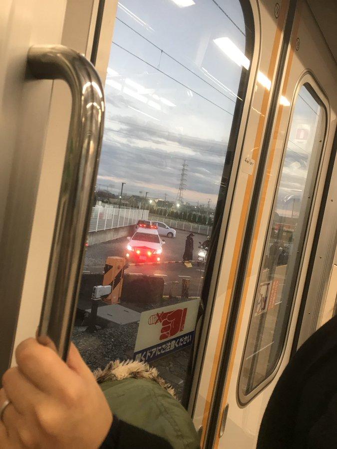 東武アーバンパークラインの馬込沢駅~塚田駅間で人身事故の現場画像
