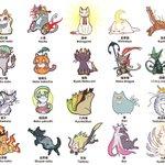 こんなにもたくさん!世界の神話や民話に登場する不思議な猫を可愛いイラストで紹介したツイートが話題に!