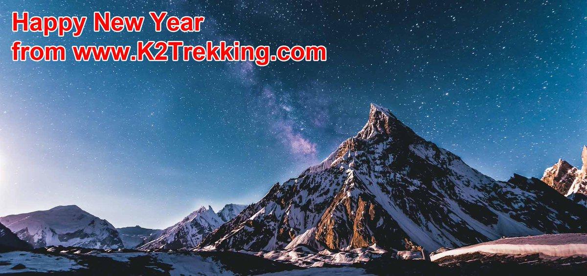 Happy New Year from http://www.K2Trekking.com