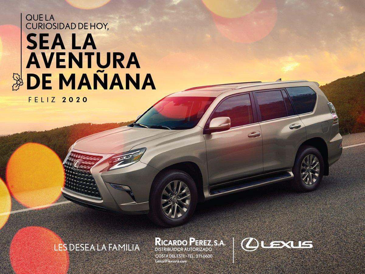 Que el inicio de un nuevo año traiga alegrías, éxitos y momentos inolvidables. ¡FELIZ 2020! #Lexus #LexusPanamá #LexusDriver #ExperienceAmazing https://t.co/352mDHzuxk