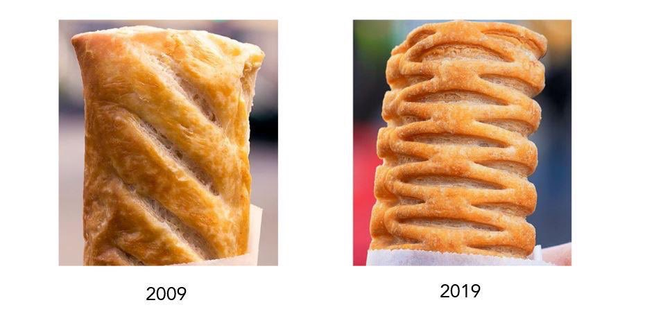 The difference a decade makes. #TenYearChallenge