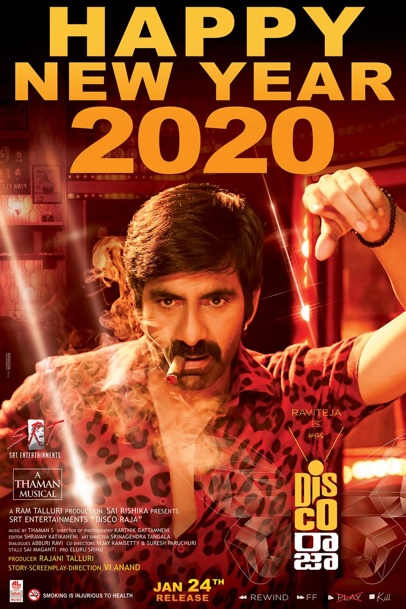 Disco Raja (2020) Hindi Dubbed 480p PreDVDRip x264 400MB
