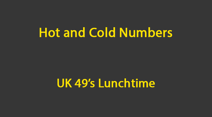 Uk49s lunchtime 2020