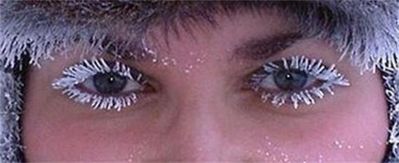 「まつ毛が凍る」の画像検索結果