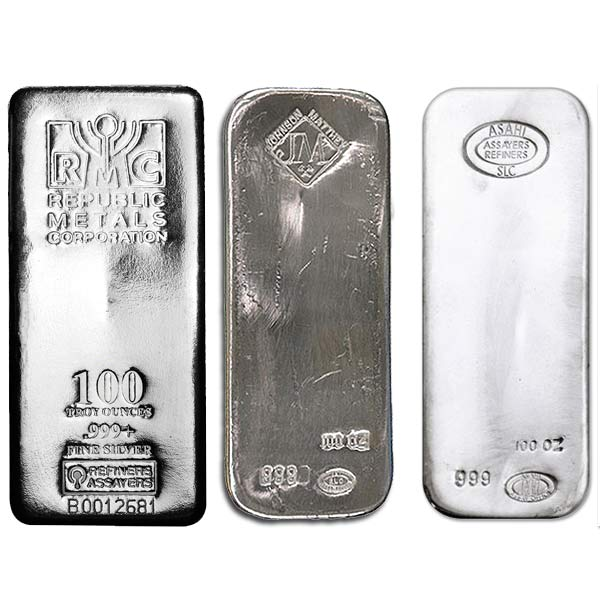100 Oz Silver Bar Value