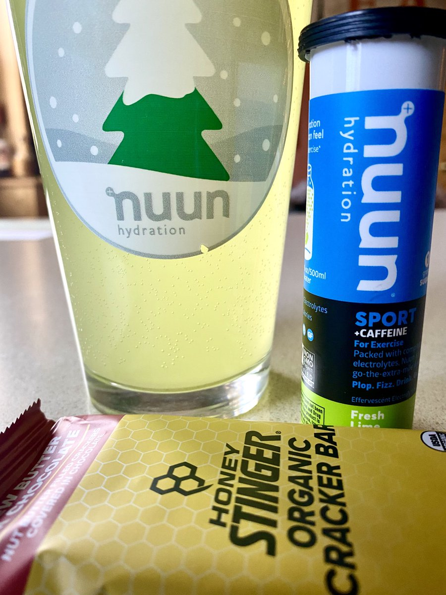Getting in the last post-run nutrition and hydration of 2019...looking forward to a new year and new challenges. Thinking #runeveryday? #nuunlife #nuunbassador2019 #makeyourwatercount @nuunhydration @honeystinger #hivelife<br>http://pic.twitter.com/xJtZsntZ83