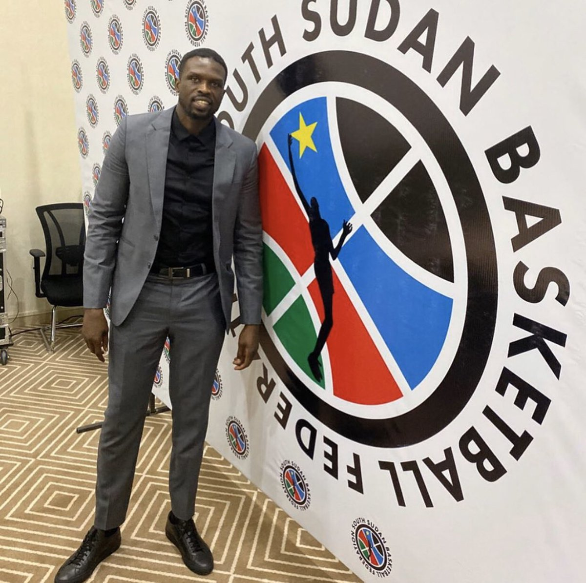 South Sudan has a new basketball federation that's been voted on by the people and I'm very proud, excited and thankful to be elected as the new President. 🇸🇸🏀   Follow our journey ➡️ @SSBFed https://t.co/rofwdPKYR4