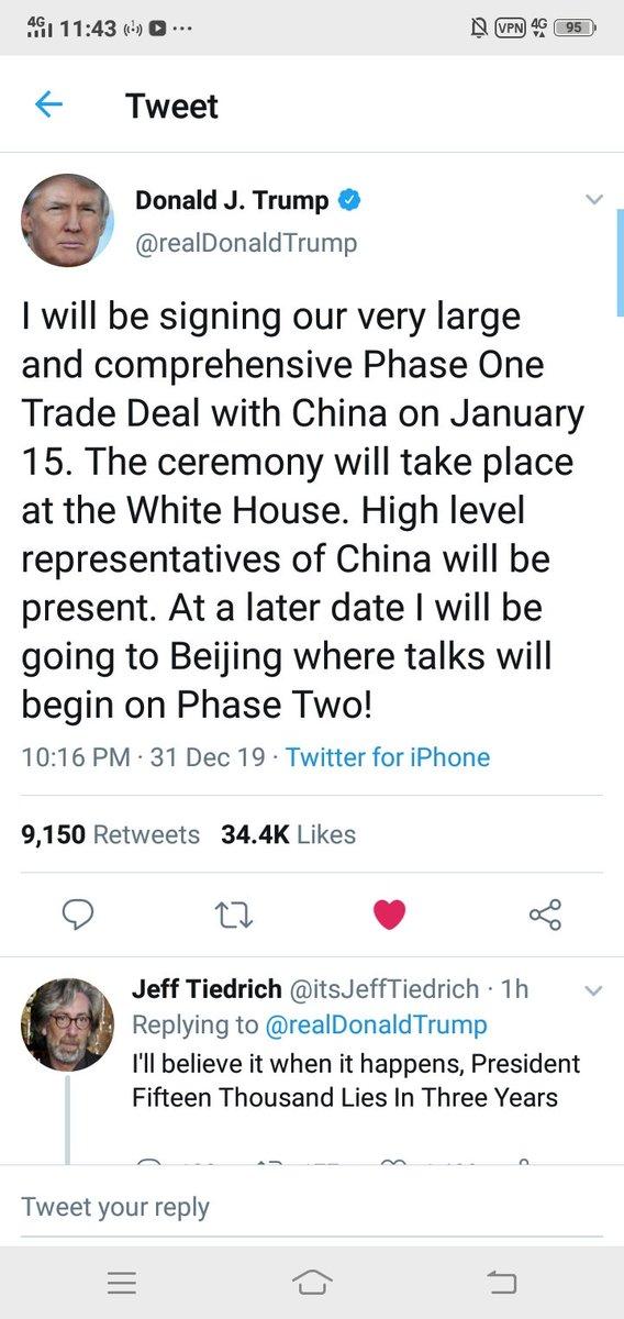 What!  #Trump #happynewyear2020  #China