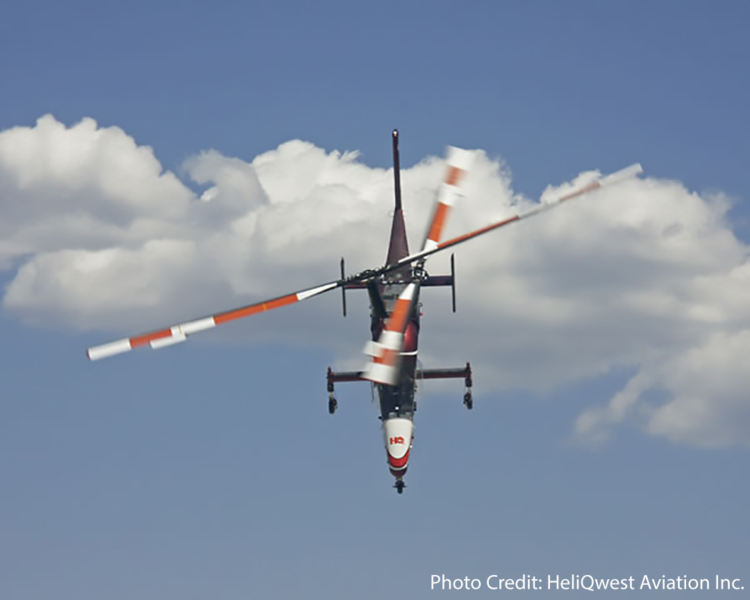 Check out our International Tuesday spotlight on #HeliQwest Aviation Inc. in Canada     #helicopter pictured: @kaman #kmax