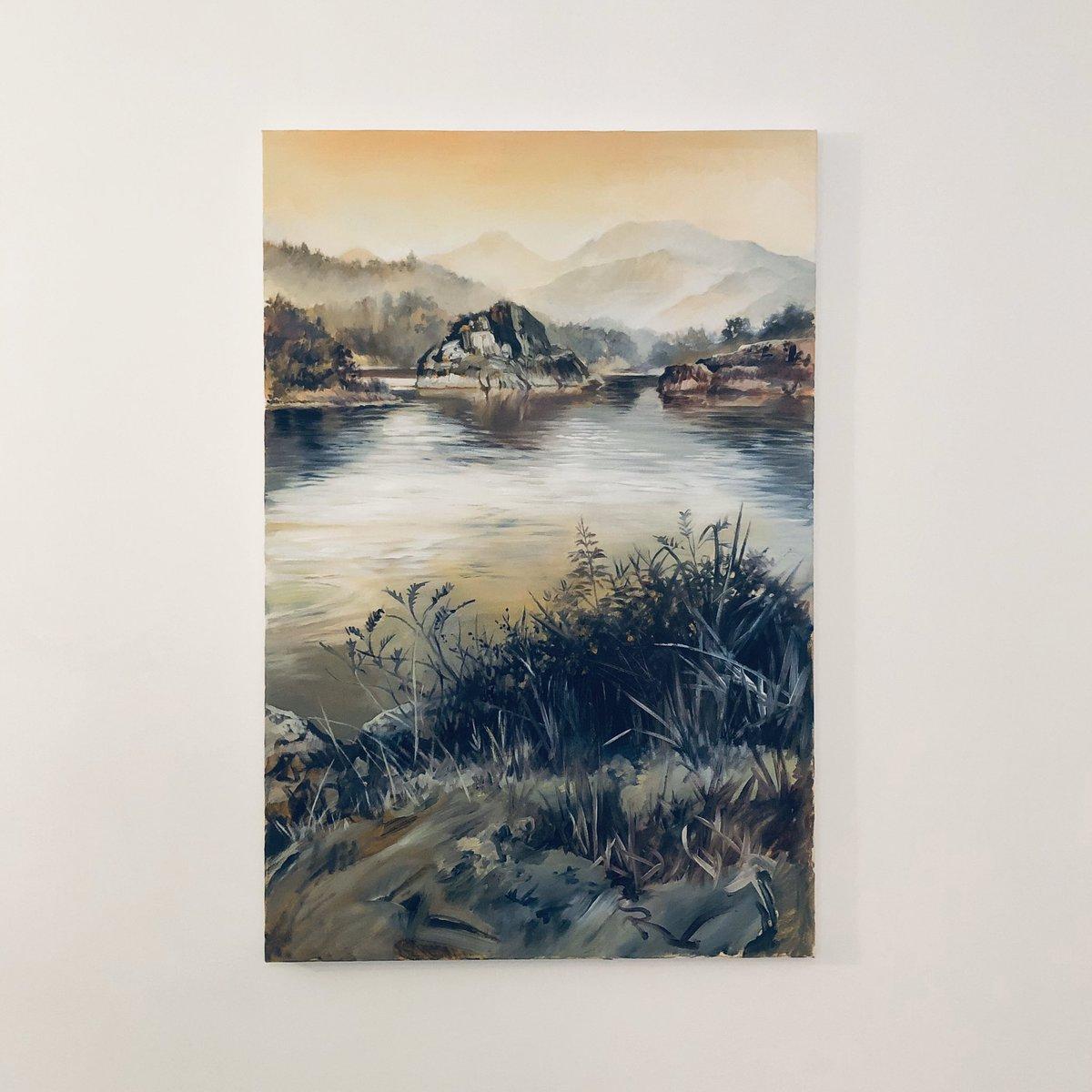 Chatterley Whitfield ltd print landscape artist of the year finalist John Ball