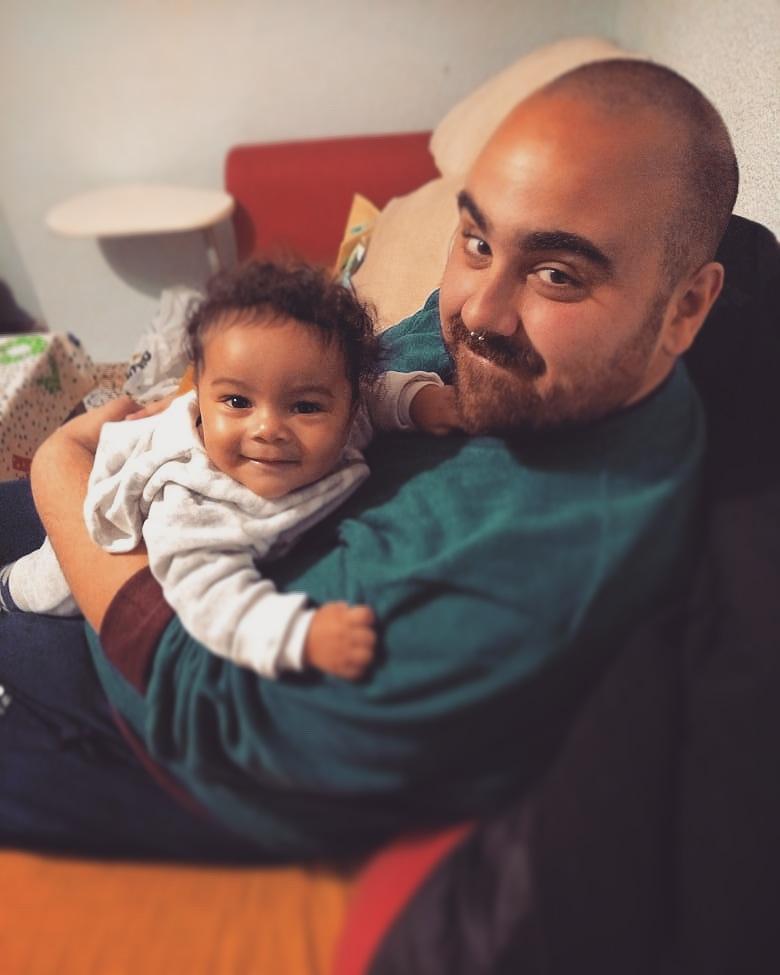 El pequeño Gael #MeuSobrinho