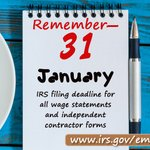Image for the Tweet beginning: Do you have employees? #IRS