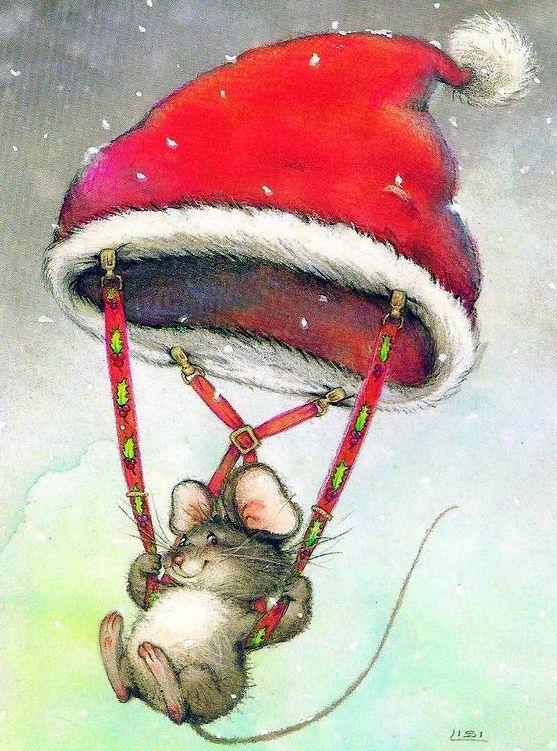 Милые картинки с наступающим новым годом мышки археологи
