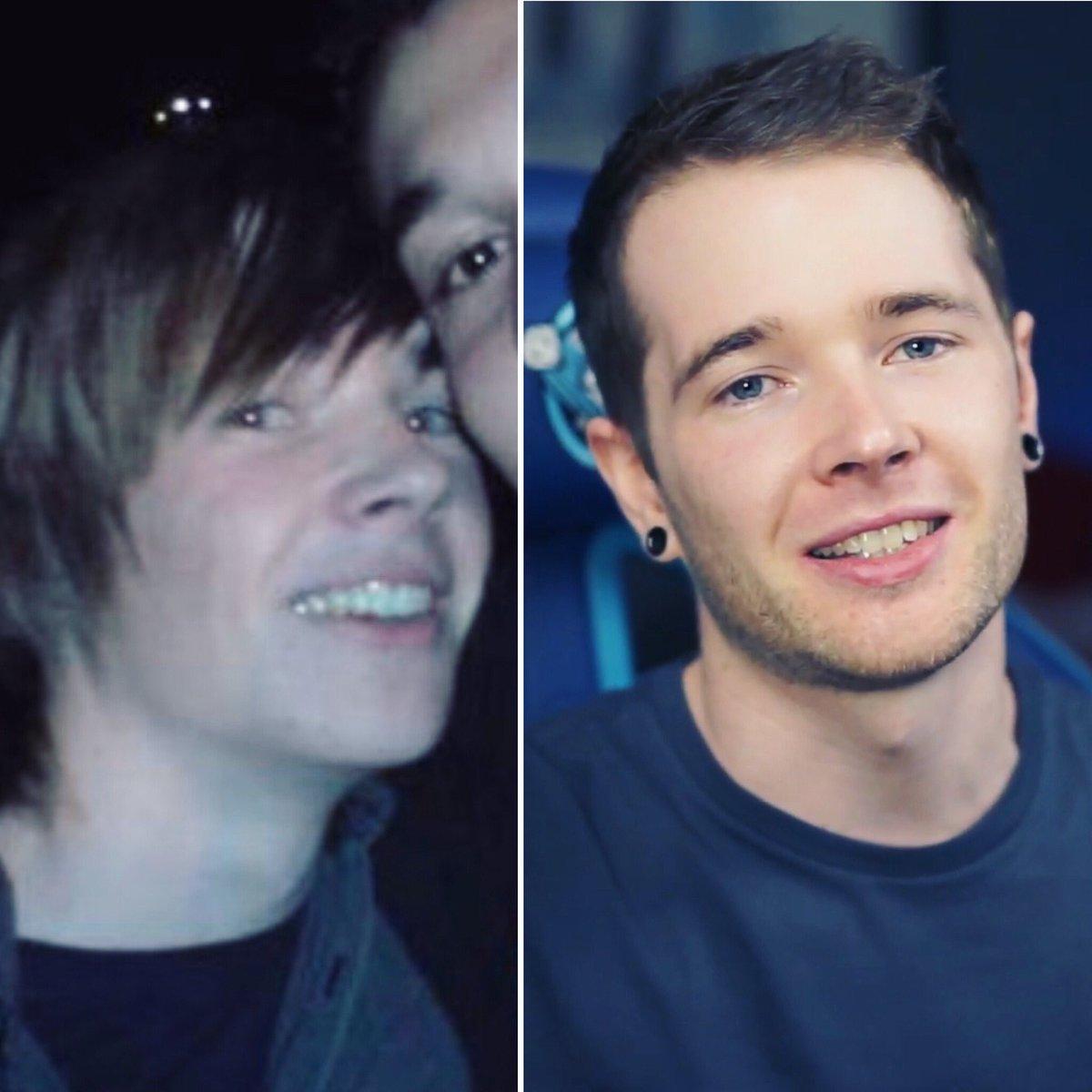 RT @dantdm: 10 years. Cut my hair. 🙃😂 #2009vs2019 https://t.co/KDlQMpheAn