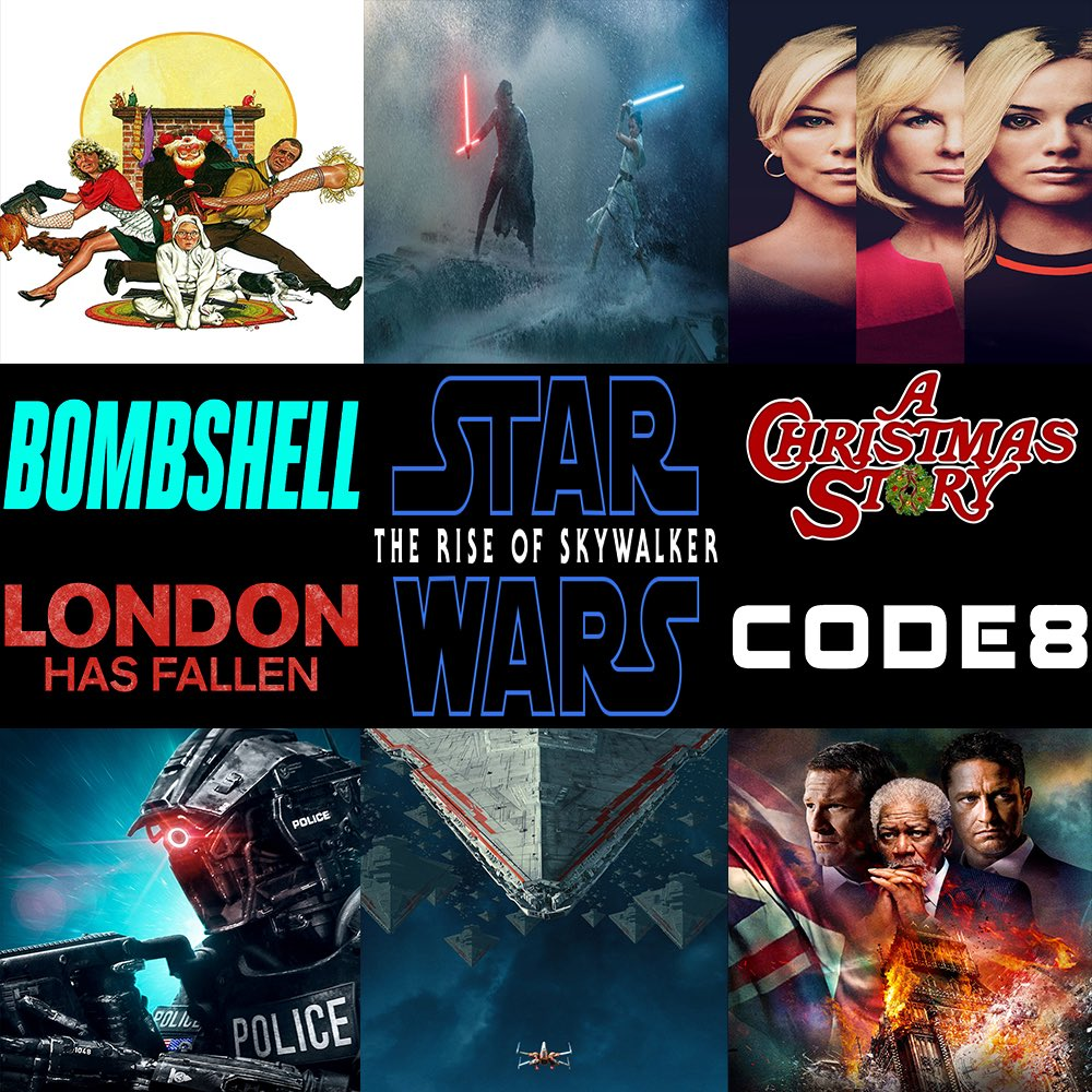 #ThisWeek in #Film, join us as we discuss #StarWars: #TheRiseOfSkywalker, #Bombshell, #Code8, #LondonHasFallen, & #AChristmasStory.  Click here to listen —> http://thisweekinfilm.libsyn.com/week-143-star-wars-episode-ix-the-rise-of-skywalker-2019-bombshell-2019-code-8-2019-london-has-fallen-2016-a-christmas-story-1983…  #podcast, #podcasting, #podernfamily, #podcasts, #filmpod, #movies, #moviepodcast, #movie,pic.twitter.com/f0lY5O4Xu7
