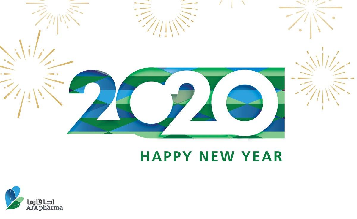 Happy new year  #اجا_فارما تهنئكم بحلول السنة الجديدة https://t.co/nAVgP1cP9P