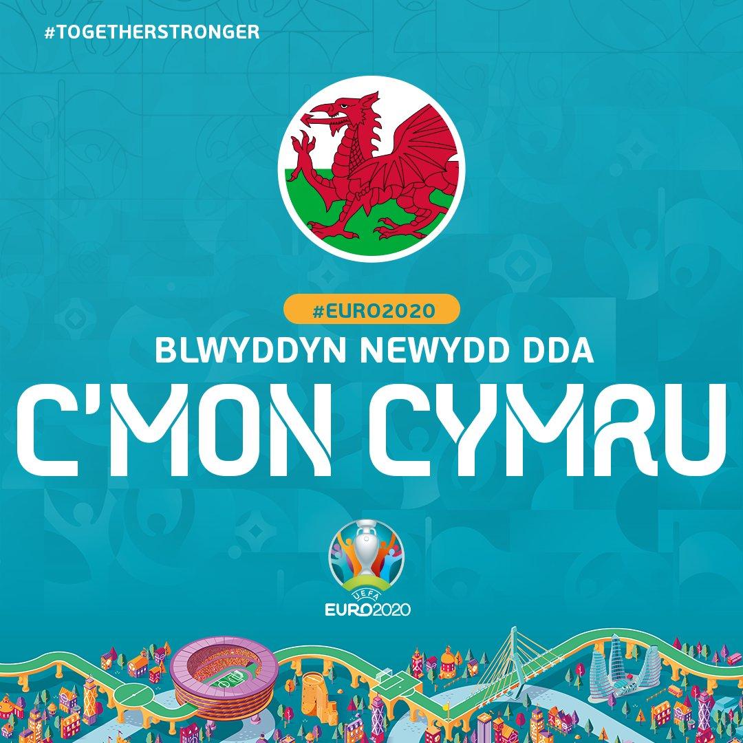 Blwyddyn Newydd Dda! 🙌 Croeso i 2020... the Year of the Dragon! 🏴 _____ #TogetherStronger | #TheRedWall | #EURO2020