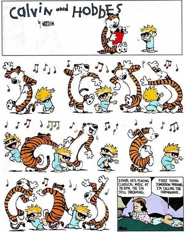 Going into the New Years... #calvinandhobbes #billwatterson #comicstrips #instagramcomics #comicstrip #comicoftheday #dailycomic #relatablecomics #cartoonoftheday #cartoonstrip #comicsofinstagram https://ift.tt/2Qy7kDipic.twitter.com/Ffg40EO7YL