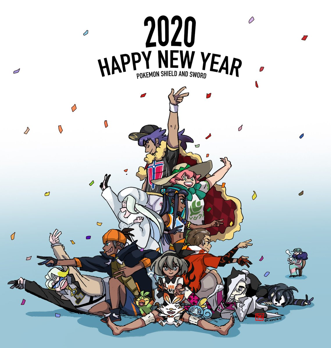 HAPPY NEW YEAR 2020 to all the twitter folks as well! (the few peps who still care that is xD) I know I know: I'm not really the most active guy on here. But no matter what issues we had...I still wish everyone of you guys a (hopefully) great start into the new year SEE YA!