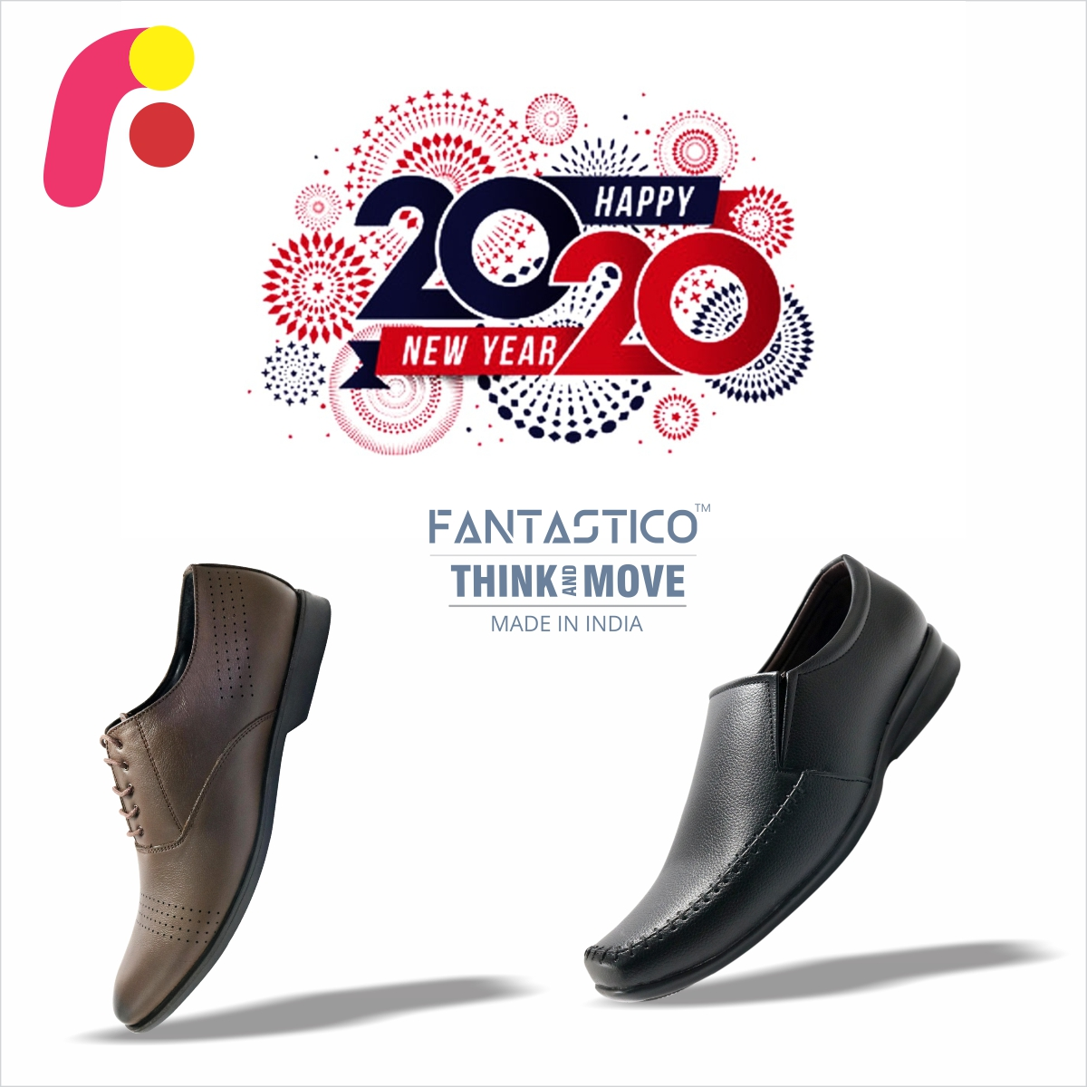 """#HappyNewYear2020 """"Your present circumstances don't determine where you can go. They merely determine where you start.""""Great Brand. Smart Prices.#Fantastico #Shoes #designs #Brand #Janmashtami #FantasticoShoes #Handcrafted #shoes #MenShoes #MenFootwear #MenFormalShoes"""