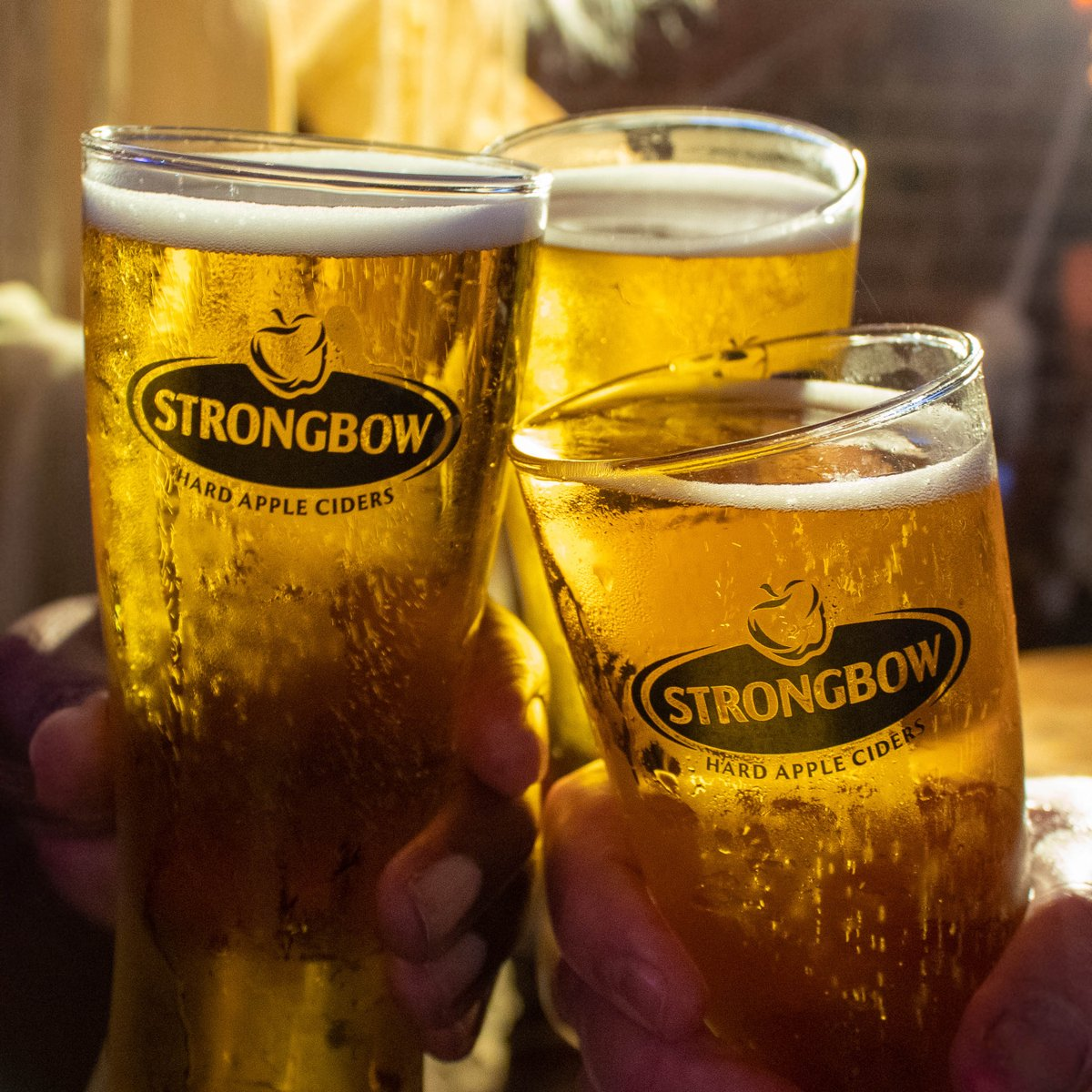 Starting the New Year off right! #Strongbow https://t.co/cKK4VIjUrN