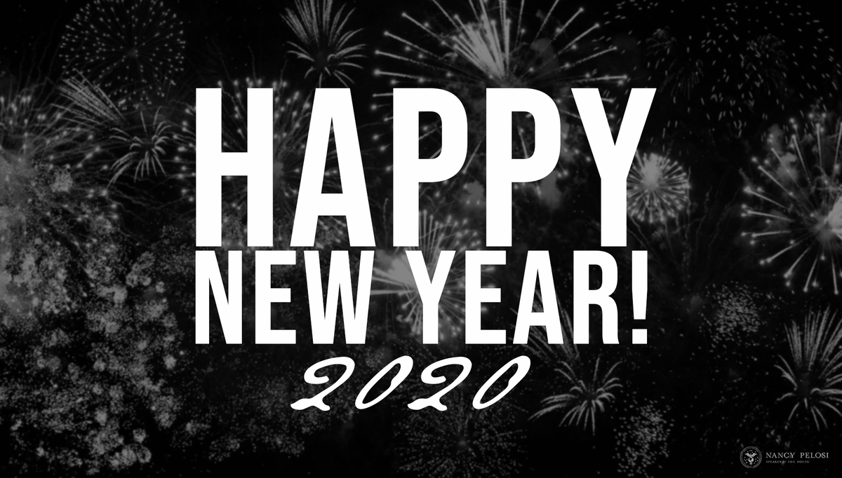 Wishing you all a #HappyNewYear full of peace, love and joy! #2020NewYear