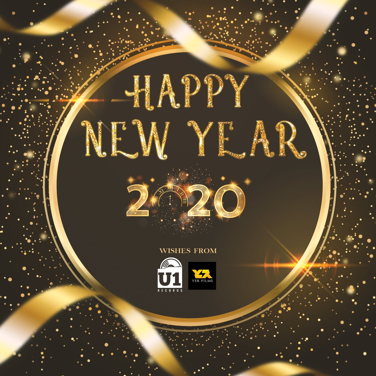 Happy New Year, Guys. Hope you all have a wonderful 2020 😊 Happiness, Peace & Much Love ♥️ - @U1Records @YSRfilms Family | @thisisysr https://t.co/bjiXNjnJxD