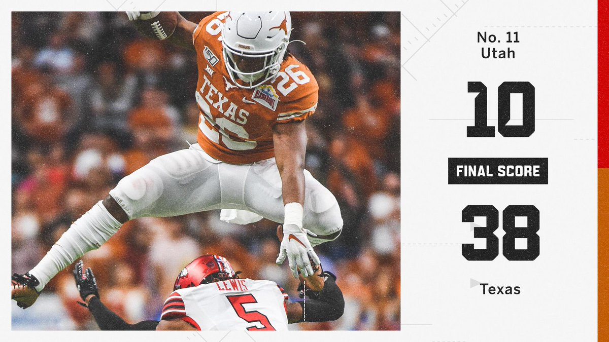 The Longhorns put a Texas-sized win on the No. 11 Utes 🔥