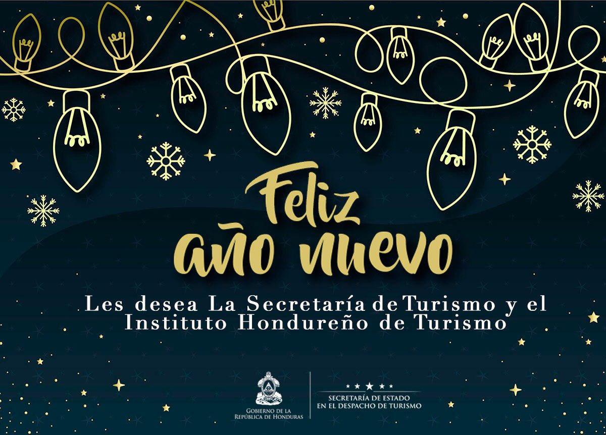 La Secretaría de Turismo y el Instituto Hondureño de Turismo les desea a todos un feliz inicio del 2020, que sea un año de nuevos éxitos, experiencias y que te dejes sorprender por tu país #Honduras #VisitHonduras  #FelizAñoNuevo #Honduras