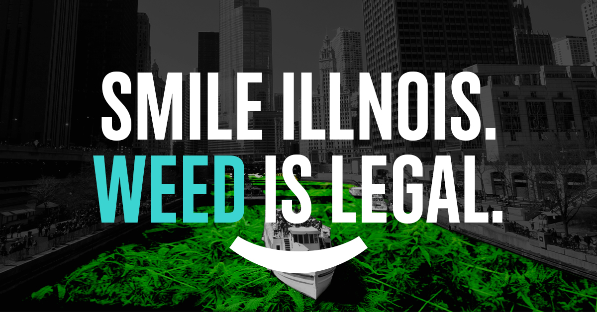 🎊Congratulations Illinois! 🎊 Adult-use is legal so here's everything you need to know about cannabis in the land of Lincoln. 🥦