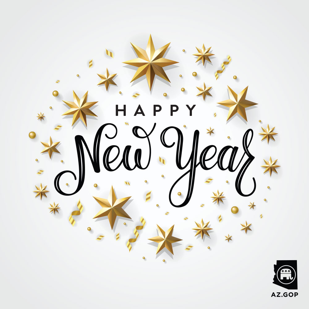 Wishing all Arizonans a happy, healthy, and exciting 2020! 🎉💥 #HappyNewYear #2020
