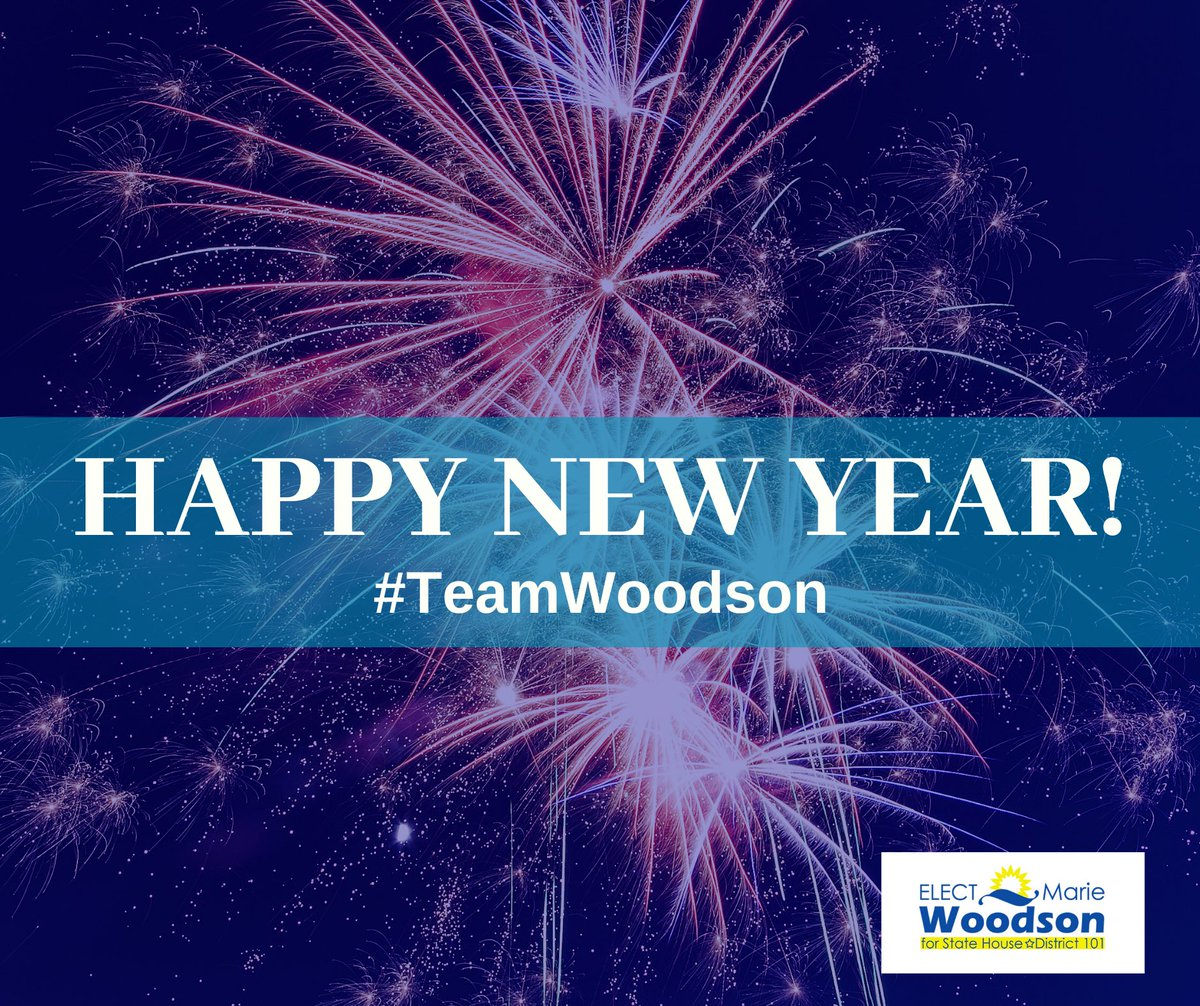 Wishing all of you a happy, healthy and safe New Year!!! May 2020 be your best year ever!!!⁣ ⁣ #TeamWoodson #2020NewYear