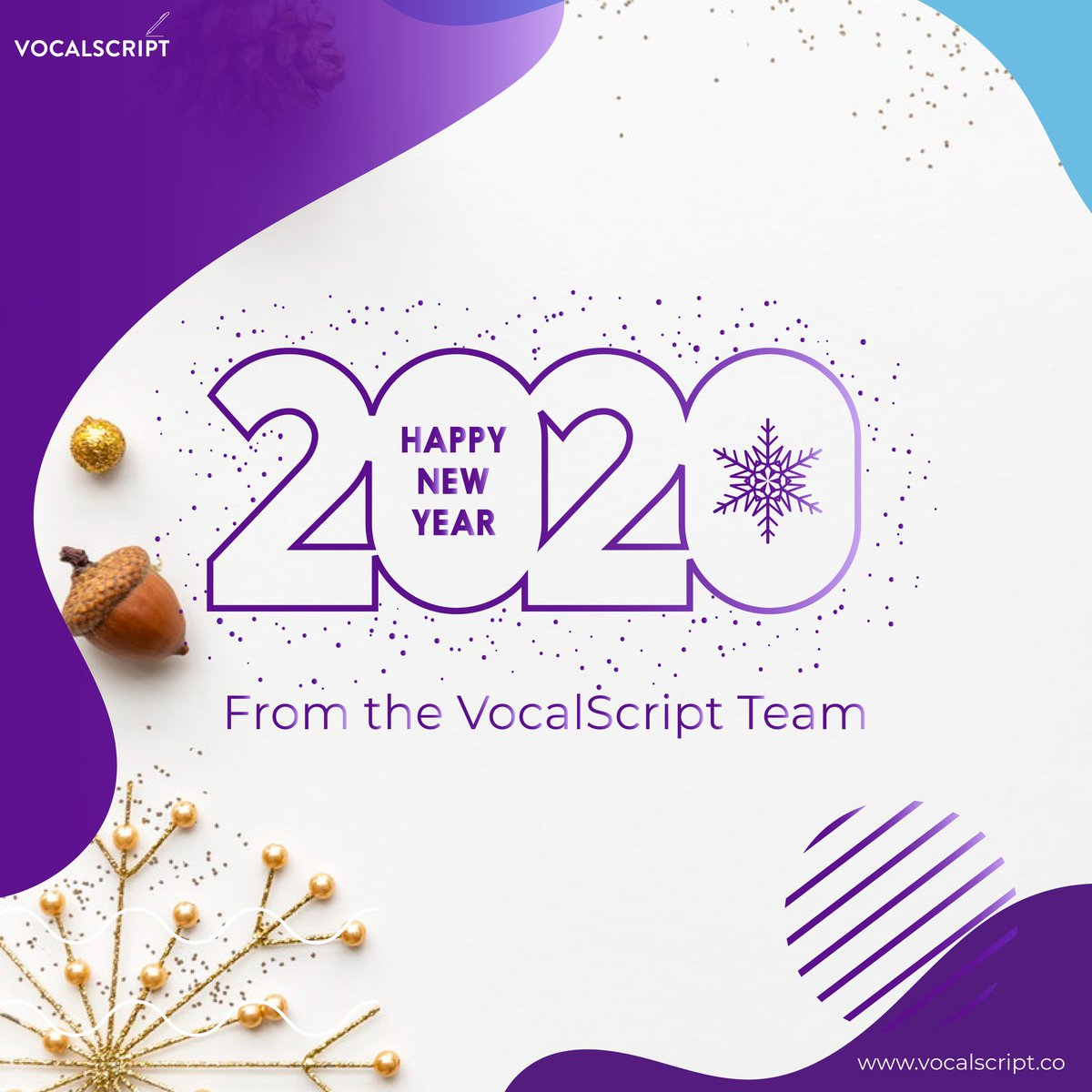 365 new days, 365 new chances. Cheers to a new decade!   #2020NewYear #newyear #holidays #productivity #transcription #closedcaptions #speechtotext #business #features #workflow #vocalscript #efficienct #tools #startup #nigeriastartups #nigeriatranscription #deadlinespic.twitter.com/1MNrndiPqb