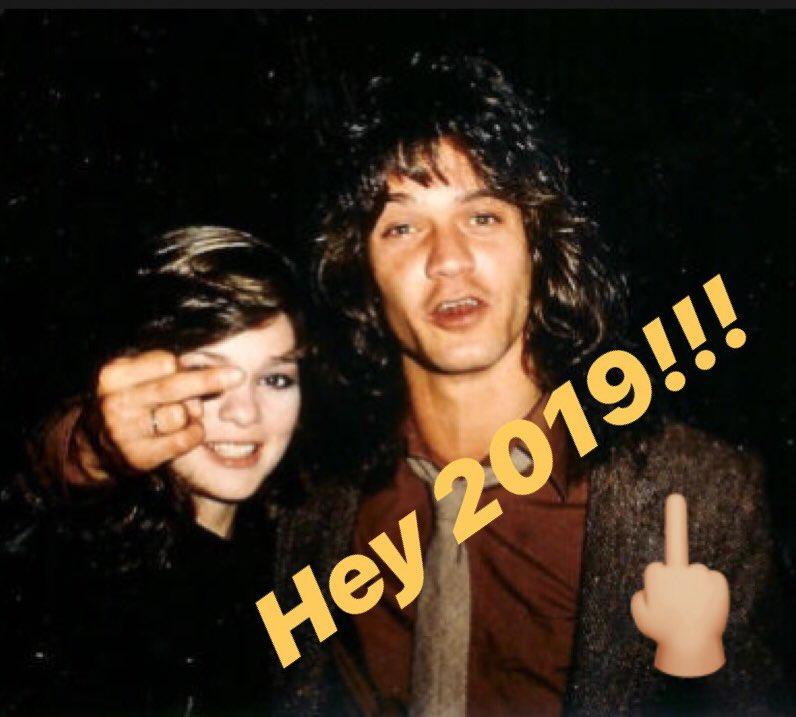 Happy New Year Van Halen Army!!!❤️ #vanhalen #vanhalenarmy #eddievanhalen #happynewyear2020 #2020NewYear #Roaring20s #2020WontHave #happynewyear2020 #HappyNewYear #NewYearsEve2020  #RockinEve #HappyNewYearsEve #HappyNewYears #HappyNew2020