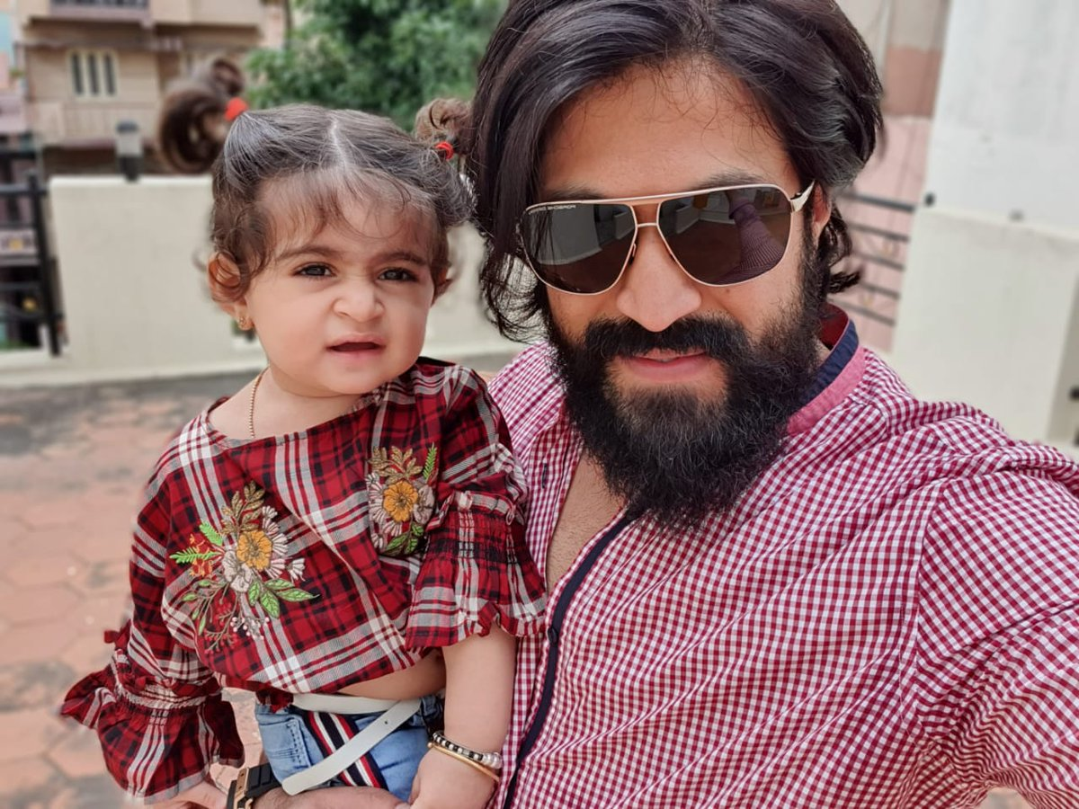 Best way to start the year is to look at life like a child - with lil excitement, lil joy and lots of innocence. Wishing you all a Very Happy New Year!  #TheNameIsYash #Happy2020 https://t.co/e3qnRgs02o