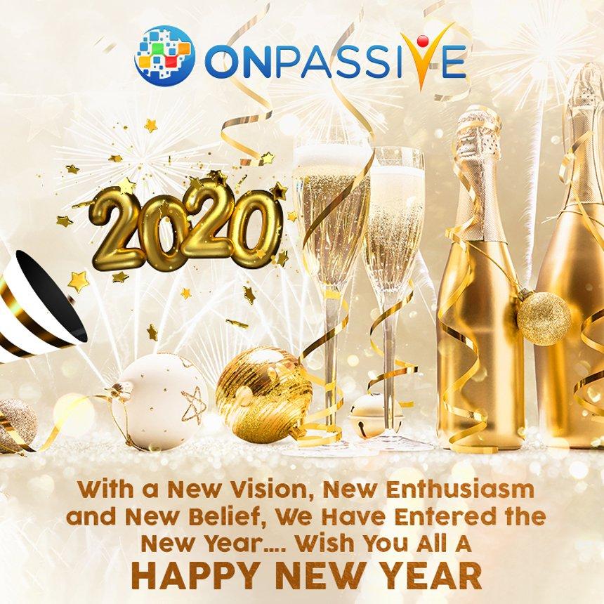 #newyear #happynewyear #celebration #newyearsparty  #newyearsday #newyearsresolution #fun #newyearscelebration #ONPASSIVE #GoFounders