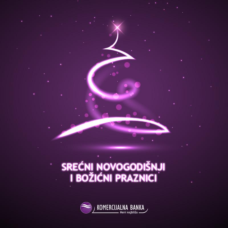 Želimo vam sretnu Novu godinu i predstojeće praznike!