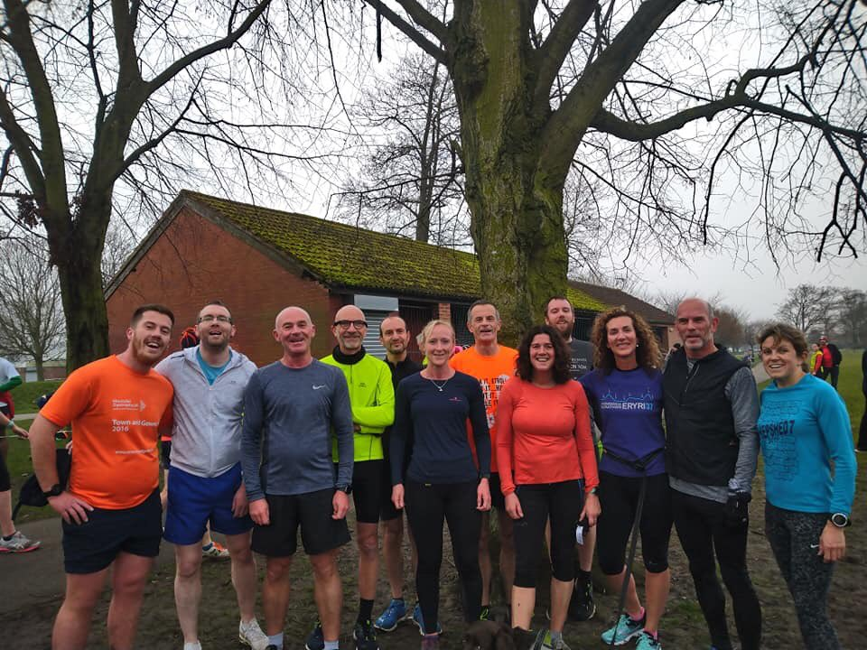 New Year's Day parkrun, a great start to 2020 with a few of my wonderful club mates.