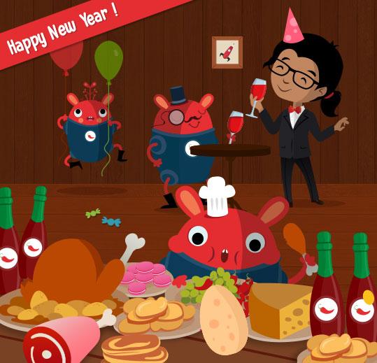 Happy New Year 🎉🎉🎉  #HappyNewYear #2020 #Party #PiliPop https://t.co/cVLwTv38cx