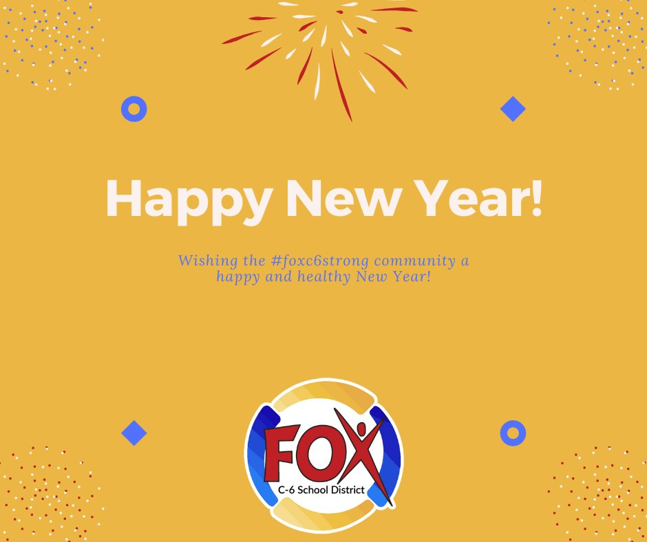 Happy New Year, #foxc6strong Family!
