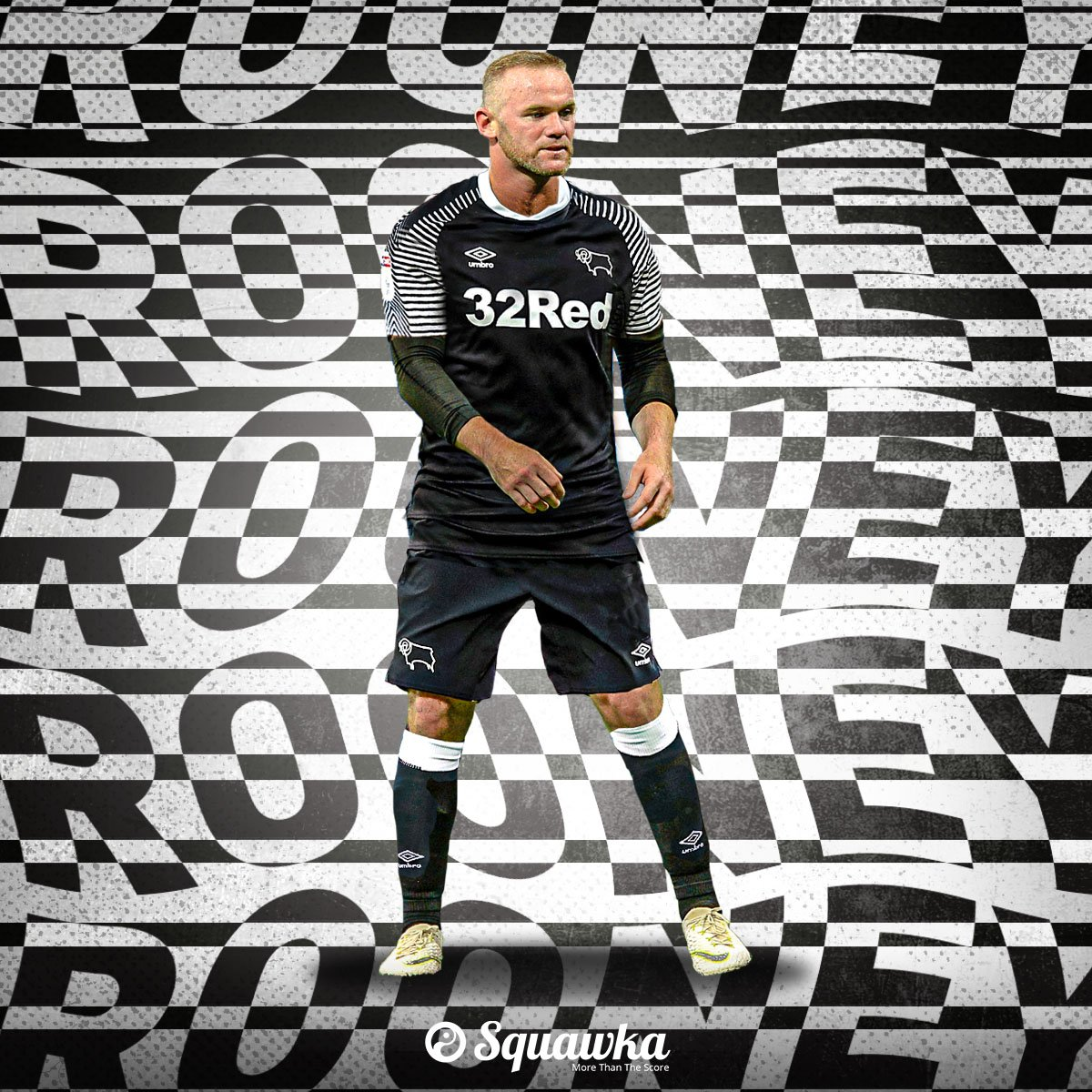 Squawka News على تويتر Official Wayne Rooney Starts For Derby County Vs Barnsley تويتر