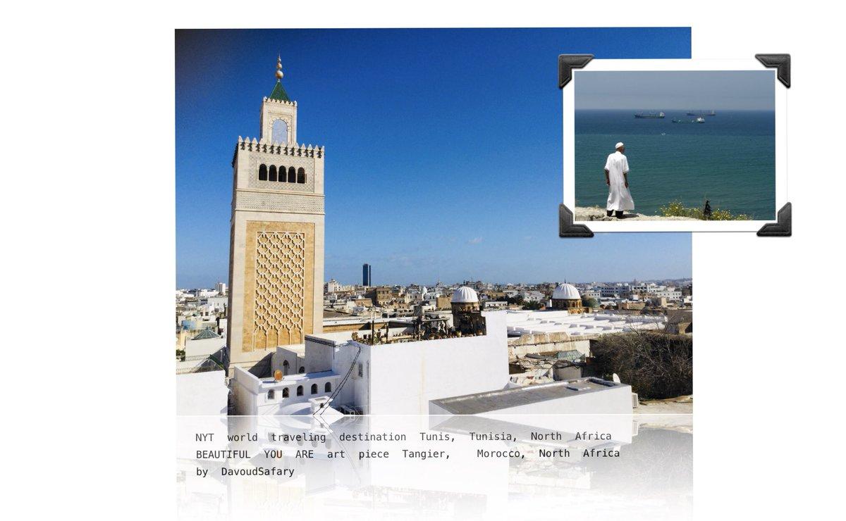 """#Weltreise-Gruß aus Tunis, 2019 zugleich eine der 52 #NYTimes Reiseziele plus Kulturstadt """"Capital de la Culture Islamique"""".   Hier führte mich meine #Innenreise zu Erinnerungen an ein ebenfalls empfohlenes Reiseziel im Maghreb ...  https://www.nytimes.com/2019/10/29/travel/tunis-tunisia-52-places-to-go.html… https://www.nytimes.com/2018/08/14/travel/tangier-morocco-women-female.html…pic.twitter.com/rab8D9JZm3"""