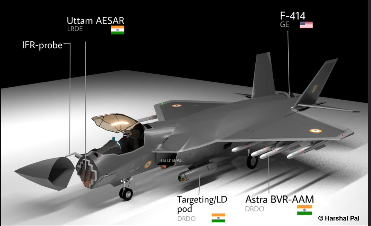 """Harshal Pal on Twitter: """"Indian 5th generation aircraft: HAL AMCA ..."""