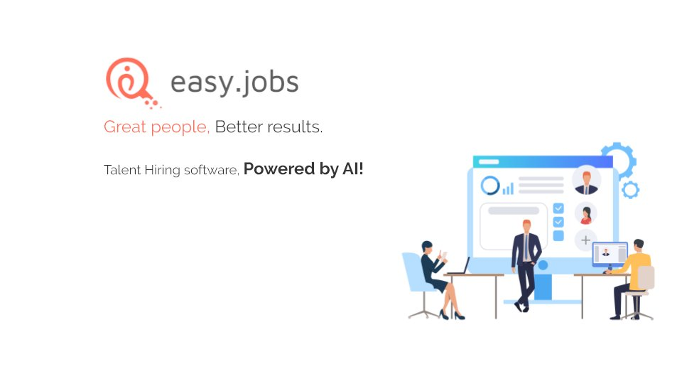 test Twitter Media - In the #NewYear Eve, announcing @GoEasyJobs! I had a dream of a perfect recruitment tool, we officially started the journey last year. Launched the SaaS globally on November 18, with my 7 co-founders. Now serving 1000+ companies and counting. Check - https://t.co/OTz24HgDn8 https://t.co/Sz1Xxmy2Gg