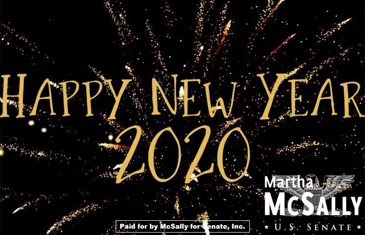 Wishing everyone a Happy New Year! Here's to a happy, healthy and successful 2020.