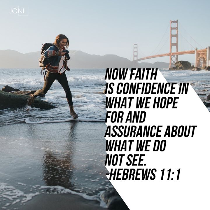 Focus on your faith. Let God deal with your fear.