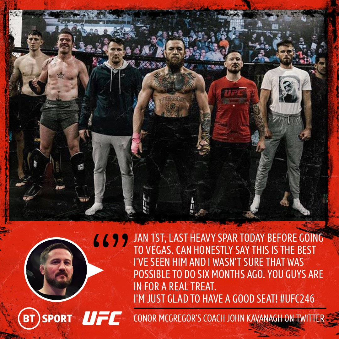 Ufc On Bt Sport On Twitter You Guys Are In For A Real