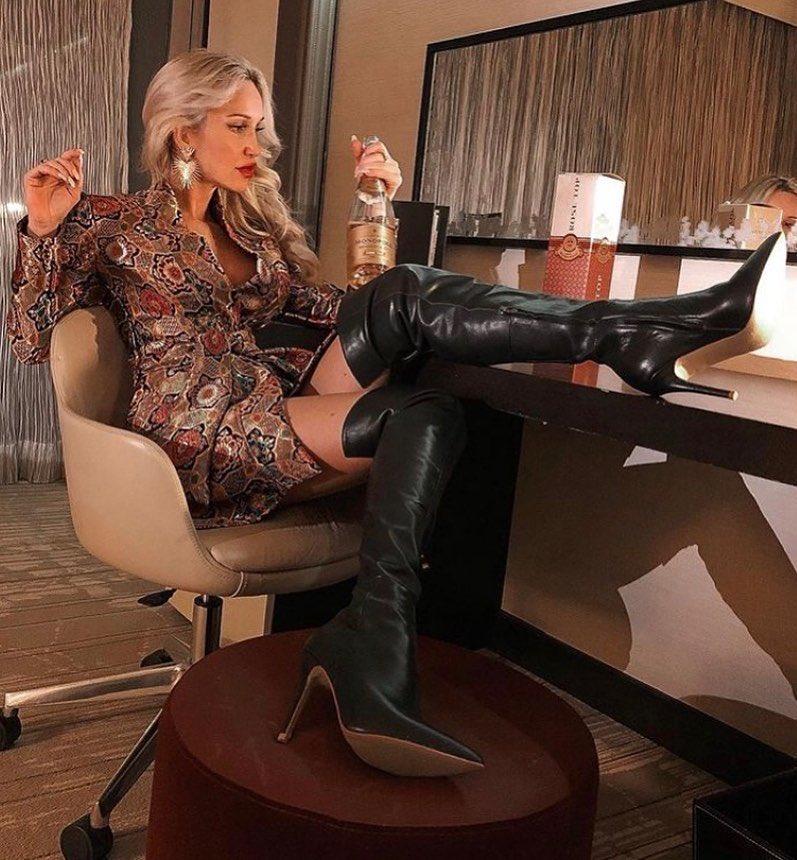 Sexy high heel boot