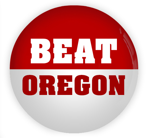 U-rah-rah! Wisconsin #BeatOregon